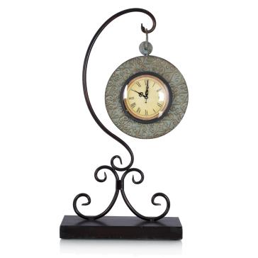 Часы на высокой ножке Komol