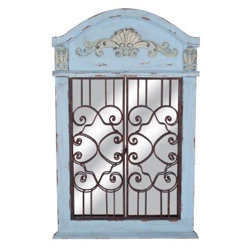Настенное украшение в виде окна-зеркала Caldwell