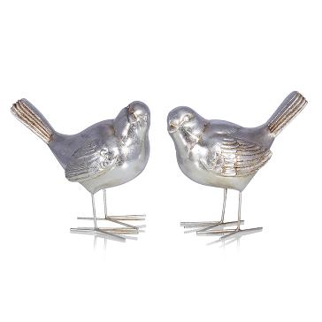 Набор из 2-х фигурок птичек Elbie: купить по цене 1522.50 руб.