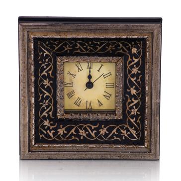 Настольные часы Datum черные