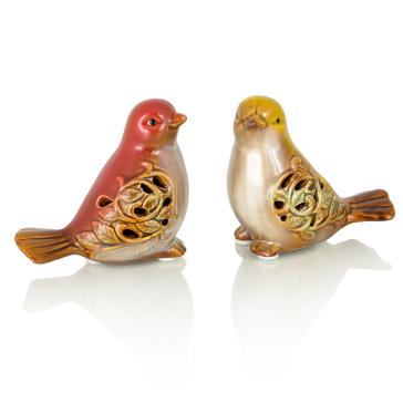 Набор керамических птичек Selena